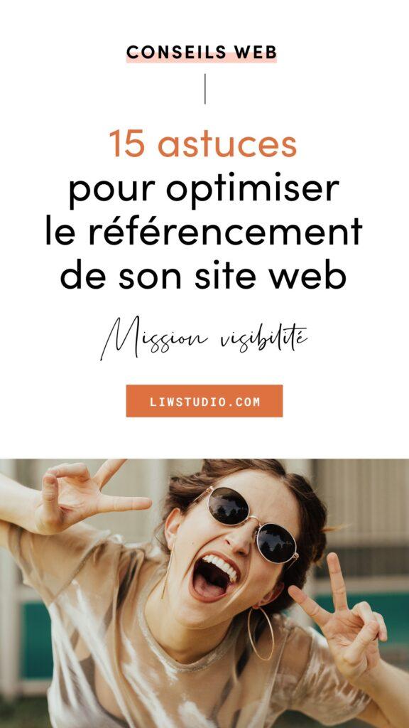 15 astuces pour optimiser le référencement de son site web - booster le SEO de son site internet