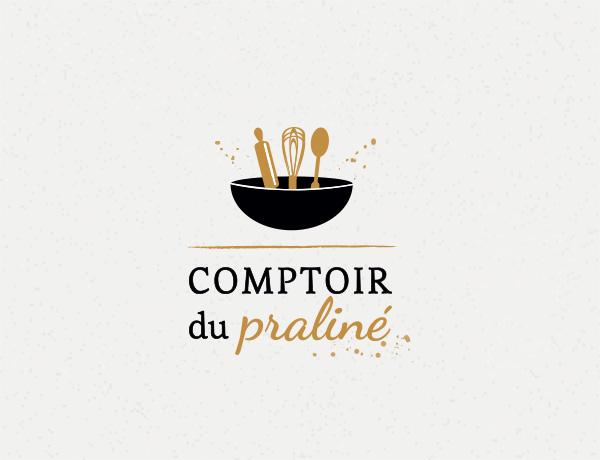 Logo artisan - Comptoir du praliné - site internet