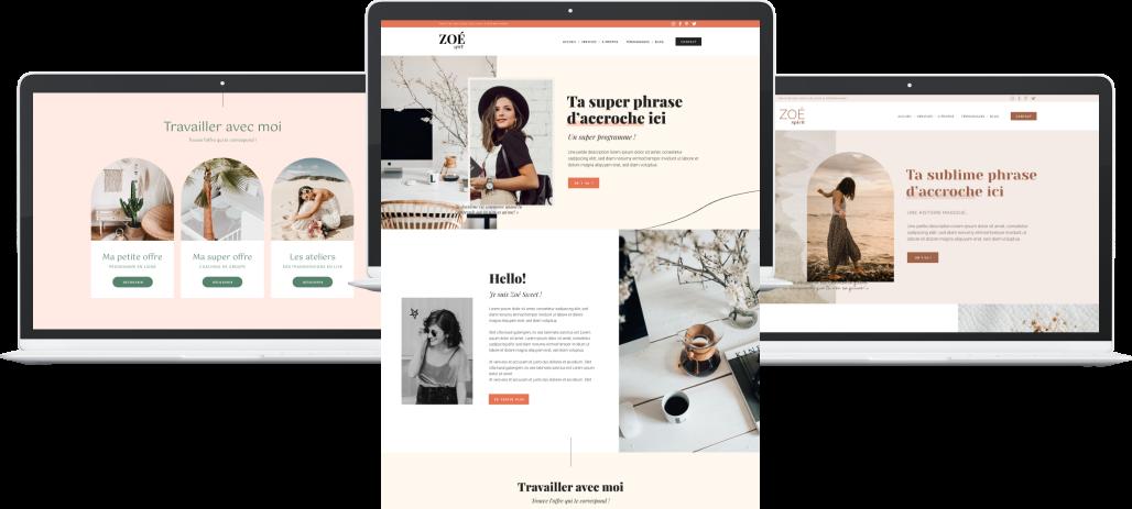 Templates WordPress Elementor - Templates Shop - Webdesigner