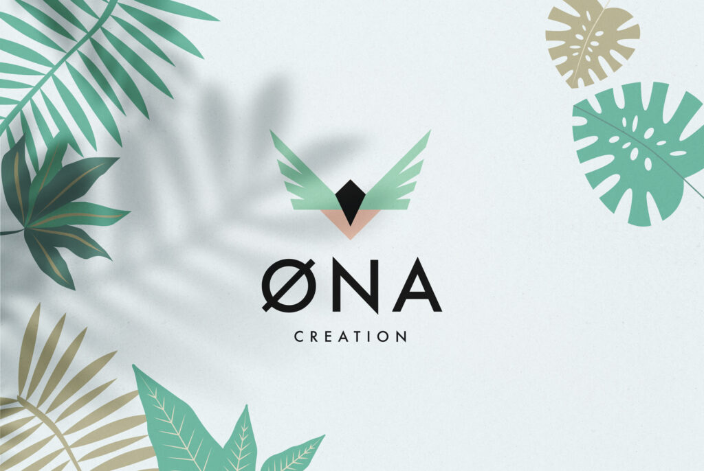 ONA Creation, papeterie créative, printables, tropical illustrations