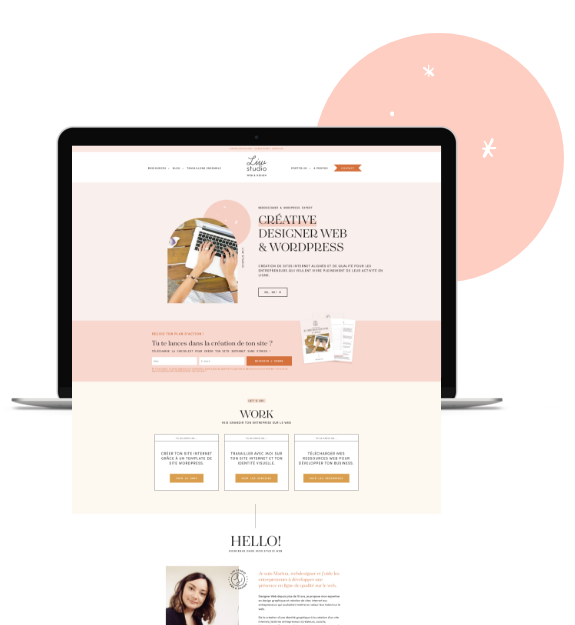 Création de site internet, Liw studio web, webdesigner