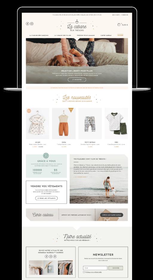 Création de site internet sur-mesure haut de gamme - graphiste webdesigner - identité visuelle